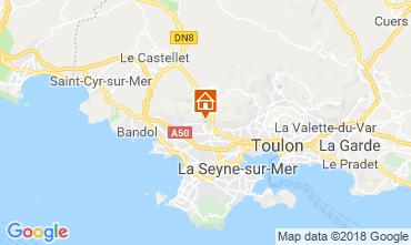 Map Ollioules Villa 117415
