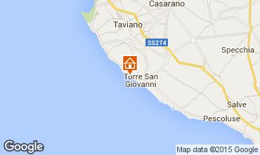 Map Ugento - Torre San Giovanni Villa 46893