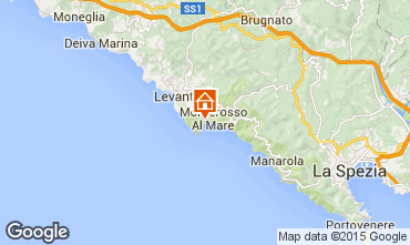 Map Monterosso al Mare One-room apartment 61490