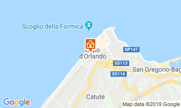 Map Capo d'Orlando Apartment 106132
