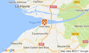 Map Honfleur Apartment 78544