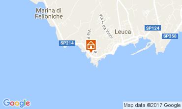 Map Santa Maria di Leuca Apartment 107977
