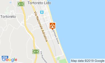 Map Tortoreto Apartment 96795