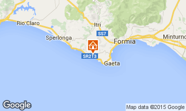 Map Gaeta One-room apartment 79110