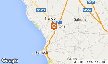 Map Gallipoli Apartment 79039