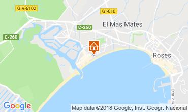 Map Rosas Apartment 94346