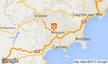 Map Cannes Apartment 84021