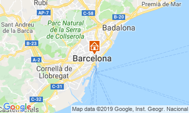 Map Barcelona Apartment 118351