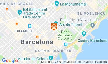 Map Barcelona Apartment 118351