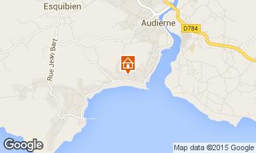 Map Audierne Apartment 9977