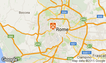 Map Rome Apartment 44347