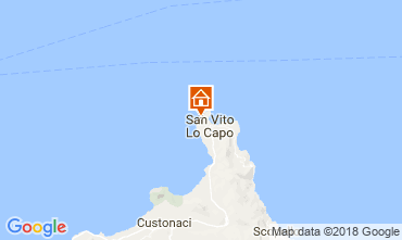 Map San Vito lo Capo Villa 113893