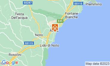 Map Avola Apartment 57765