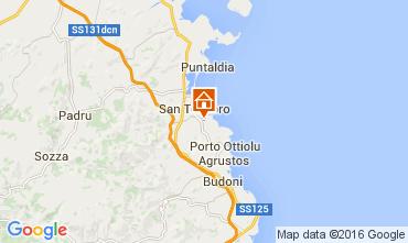Map San Teodoro Apartment 75983