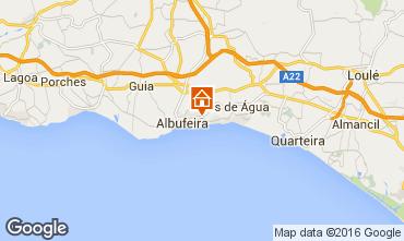 Map Albufeira Apartment 102566