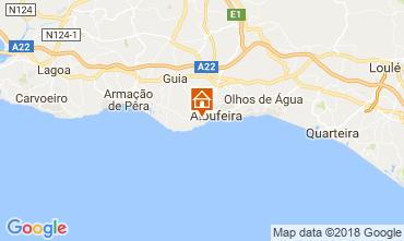 Map Albufeira Apartment 115053
