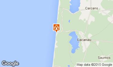 Map Lacanau Apartment 74349