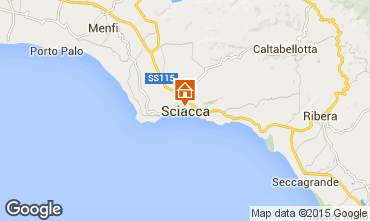 Map Sciacca Apartment 64154