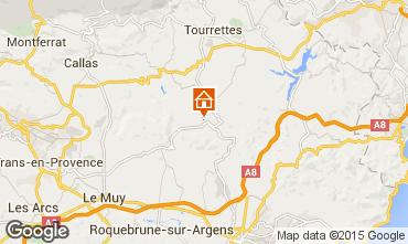 Map Fréjus Apartment 74884
