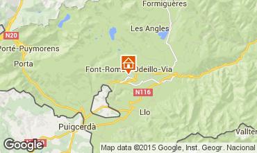 Map Font Romeu Apartment 70530