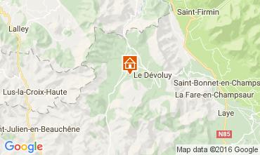 Map Superdévoluy- La Joue du Loup Chalet 75135