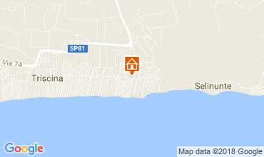 Map Triscina Villa 114975