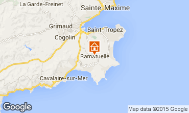 Map Ramatuelle One-room apartment 87690