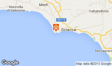 Map Sciacca Apartment 78250