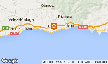 Map Torrox Apartment 9619