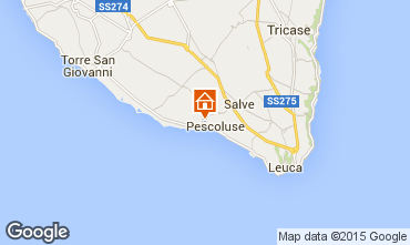 Map Pescoluse Villa 72212