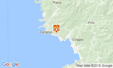 Map Cargèse House 115568