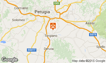 Map Assisi Vacation rental 66510