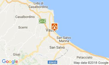 Map Vasto Apartment 46912