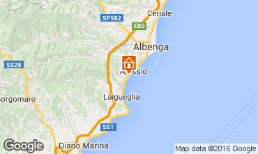 Map Alassio Apartment 79186
