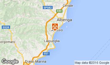 Map Alassio Apartment 79186