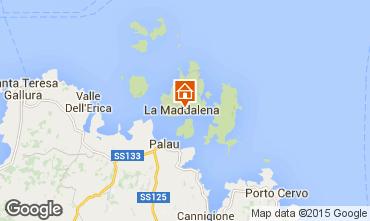 Map La Maddalena One-room apartment 89150