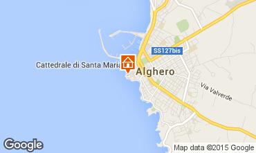 Map Alghero Apartment 46353