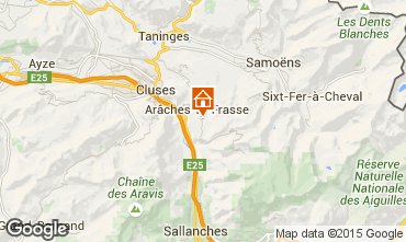 Map Les Carroz d'Araches One-room apartment 28096