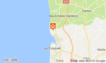 Map Le Touquet House 80399