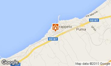 Map Trappeto Apartment 95190