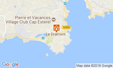 Map Saint Raphael Apartment 113539