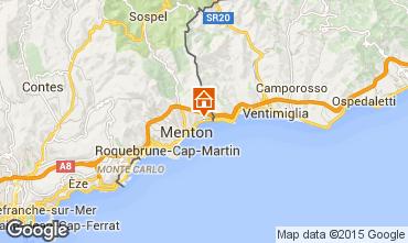 Map Menton One-room apartment 92071
