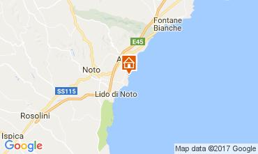 Map Avola Villa 108590