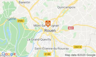 Map Rouen One-room apartment 118116