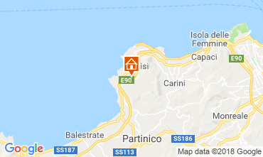 Map Terrasini Villa 117072