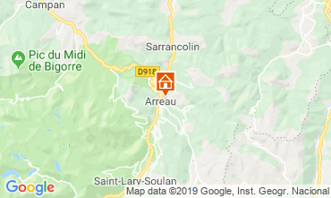 Map Saint Lary Soulan House 95270