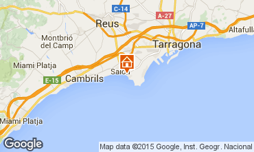 Map Salou Apartment 68806