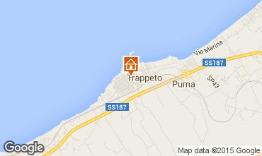 Map Trappeto Apartment 82748