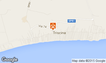 Map Triscina Villa 99407