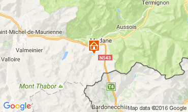 Map Valfr�jus Chalet 100850